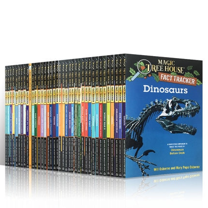 37 Books/Set Story book Magic Tree House Illustrated English Reading Increase Wisdom Children's Books Children Gifts Story Book