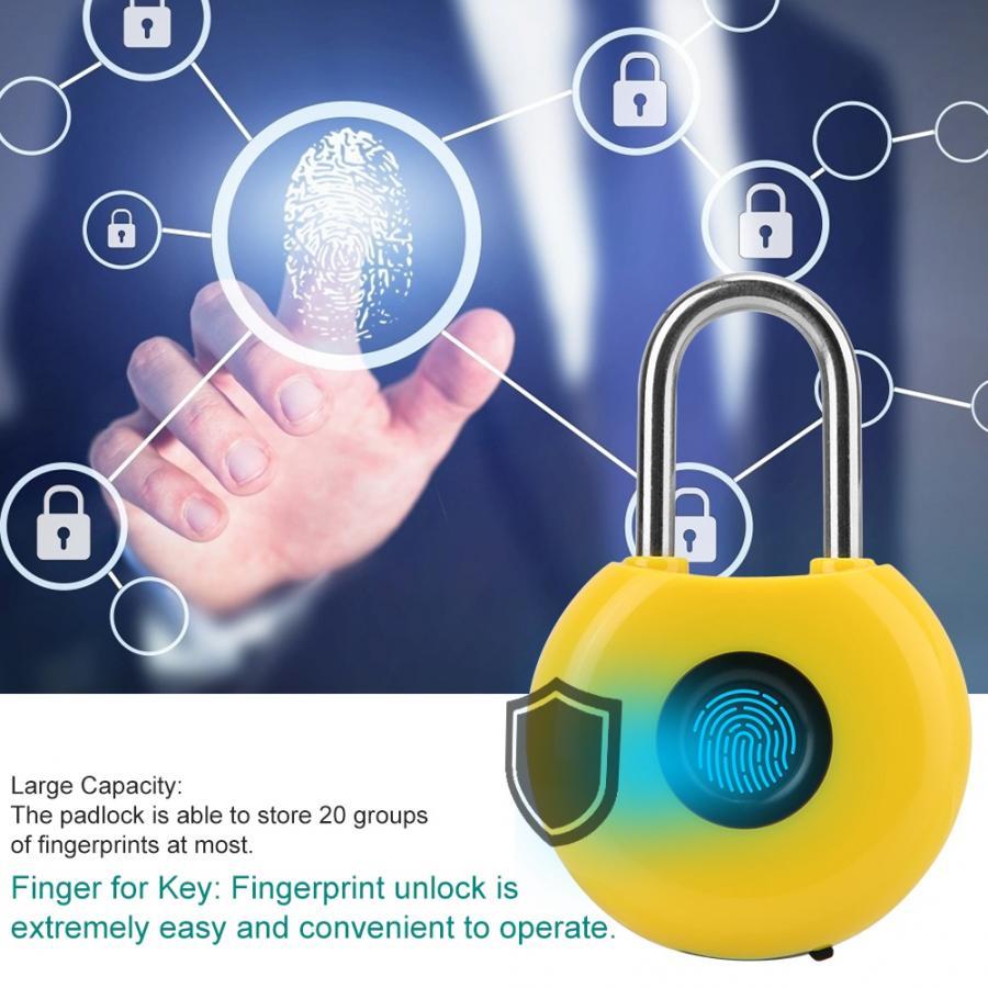 الذكية بدون مفتاح البيومترية بصمة قفل مقاوم للماء مكافحة سرقة الأمن قفل باب ذكي