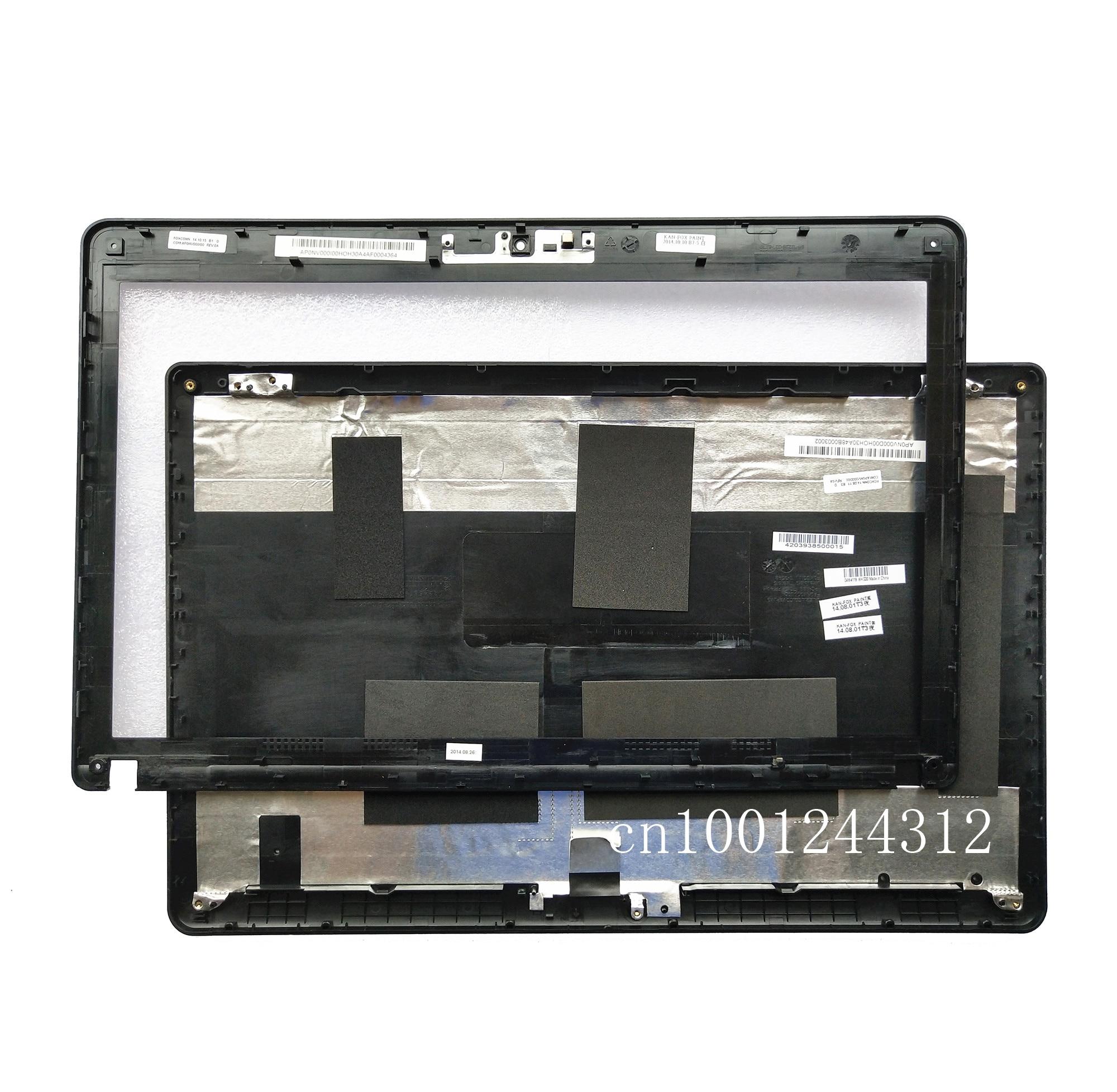 Nuevo Original para Lenovo Thinkpad Edge E530 E535 E530C E545 LCD tapa trasera superior cubierta trasera/bisel 04W4119 04W4233 plástico