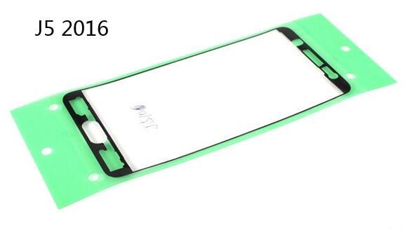 Nuevo conjunto completo de adhesivos Lcd delanteros + cubierta trasera de batería pegamento adhesivo para Samsung Galaxy J2 J3 J5 J7 J120 J320