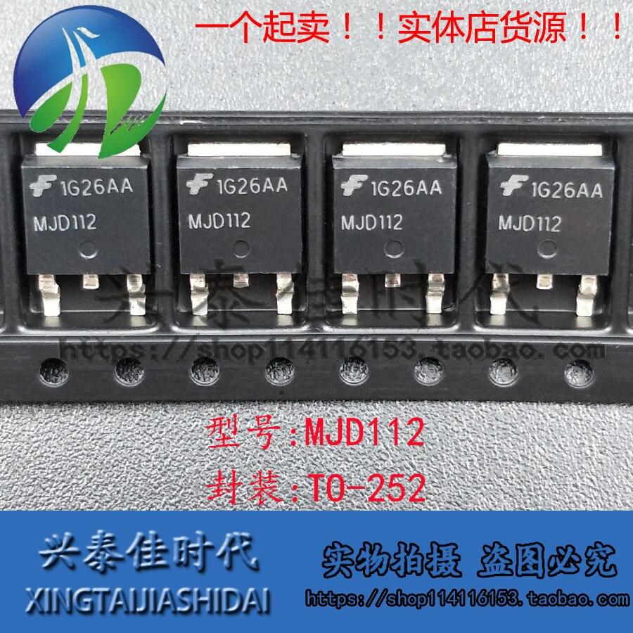 Оригинальный-Новый-5-шт-mjd112-to-252