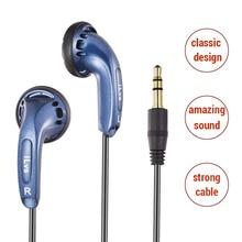 3.5 millimetri Auricolare Auricolari In Ear Auricolare Spina a Testa Piatta Bass Auricolari per Xiaomi Auricolari fone de ouvido per Meizu cHeadset