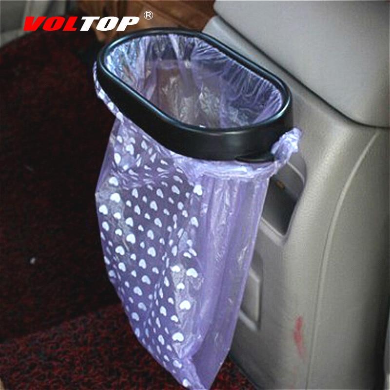 Bolsa de basura marco accesorios de Interior de coche para niñas coche cubo de basura ornamento colgante decoración del tablero
