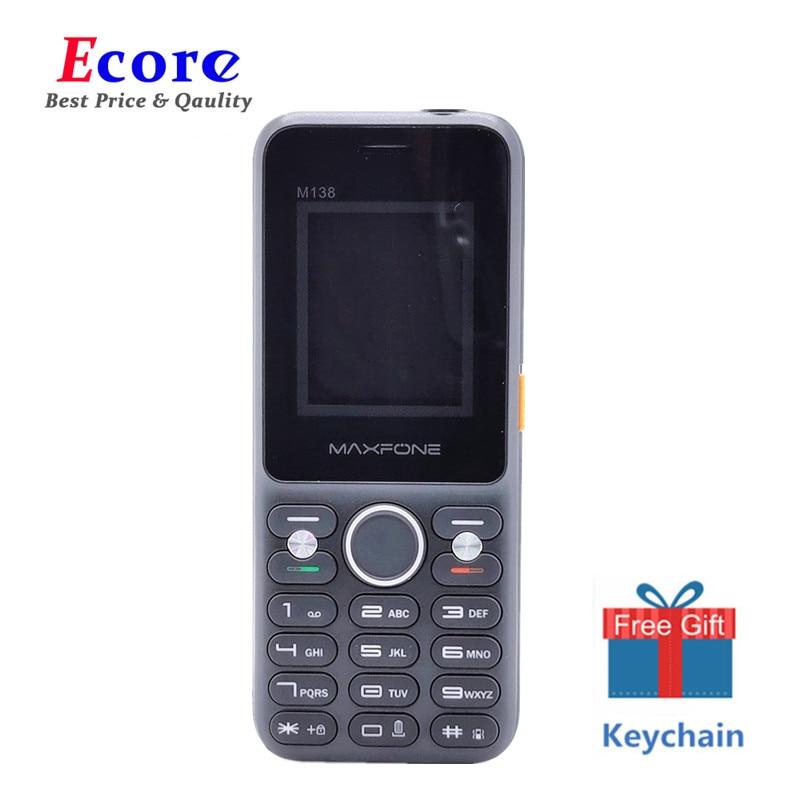 Maxfone M138 Push Button Mobile Phones With 2000mAh 2 Sim Card Camera Bluethooth Magic Voice Big SpeakerTorch FM Cheap Telephone