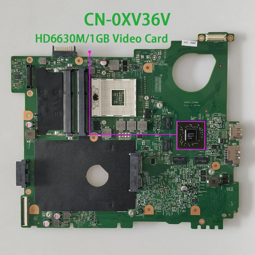 CN-0XV36V 0XV36V XV36V HM67 DDR3 HD6630M/1GB لديل Vostro 3550 V3550 الكمبيوتر الدفتري المحمول اللوحة اختبار