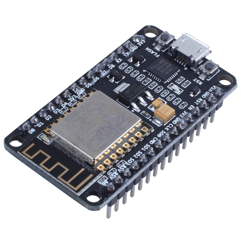 2pcs New Version ESP8266 NodeMCU LUA CP2102 ESP-12E Internet WIFI Development Board Open source Serial Wireless Module Works Gre