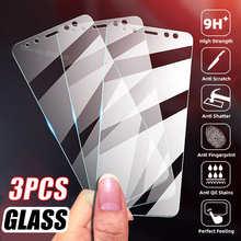 3PCS Protective Glass For Xiaomi Mi 10T POCO F3 X3 M3 Pro Redmi 5 Plus Note 9S 9T 9C NFC 5 5A 4X 4A 4 Glas Screen Protector Film