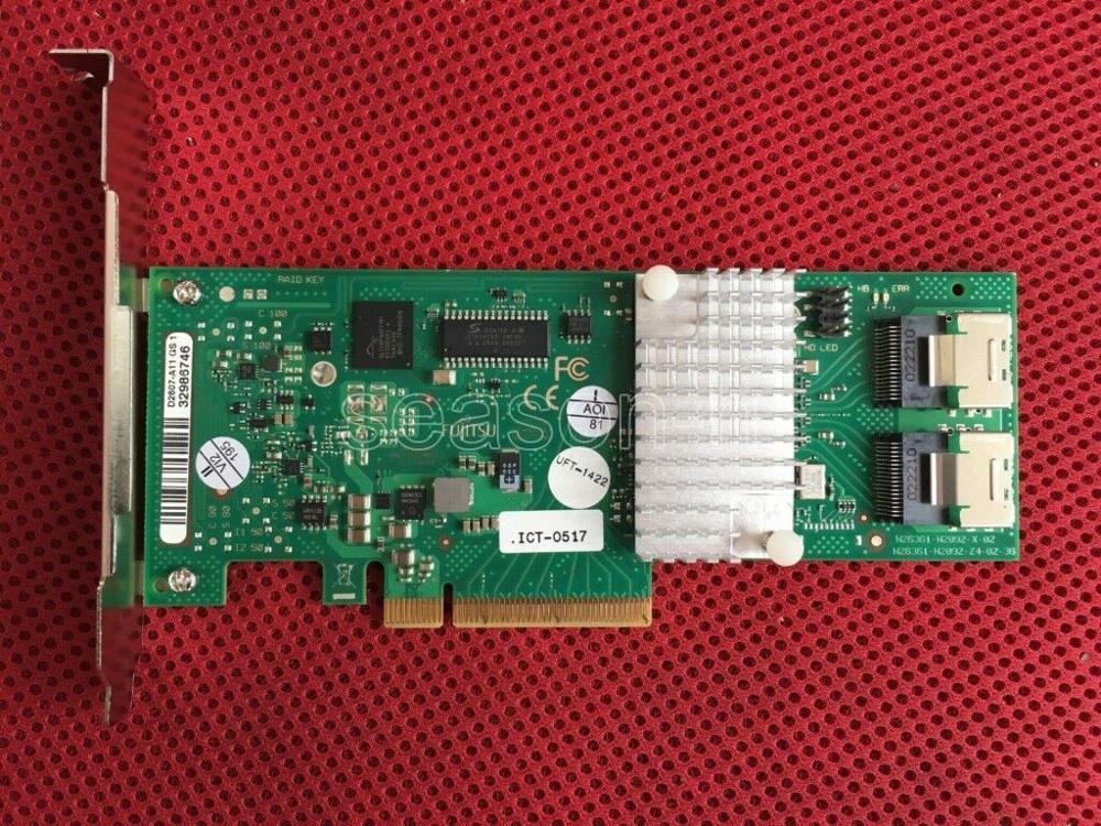 Fujitsu 9211-8i D2607 LSI 2008 SAS/SATA HBA JBOD = LSI 9211-8I
