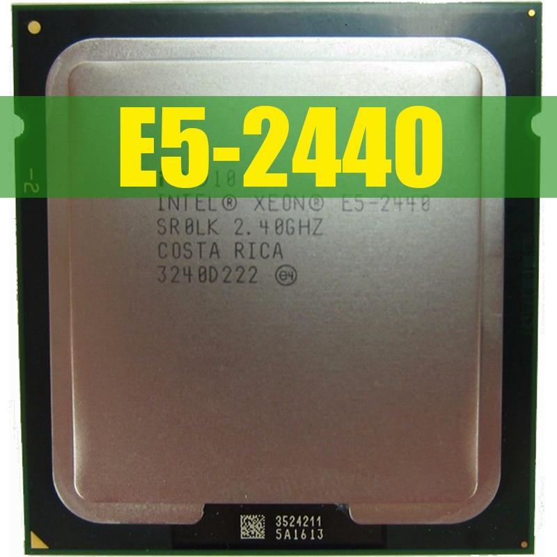 CPU INTEL CPU Intel Xeon E5 2440 SR0LK cpu 2,4 GHz 6-núcleo 15M LGA 1356 E5-2440 procesador
