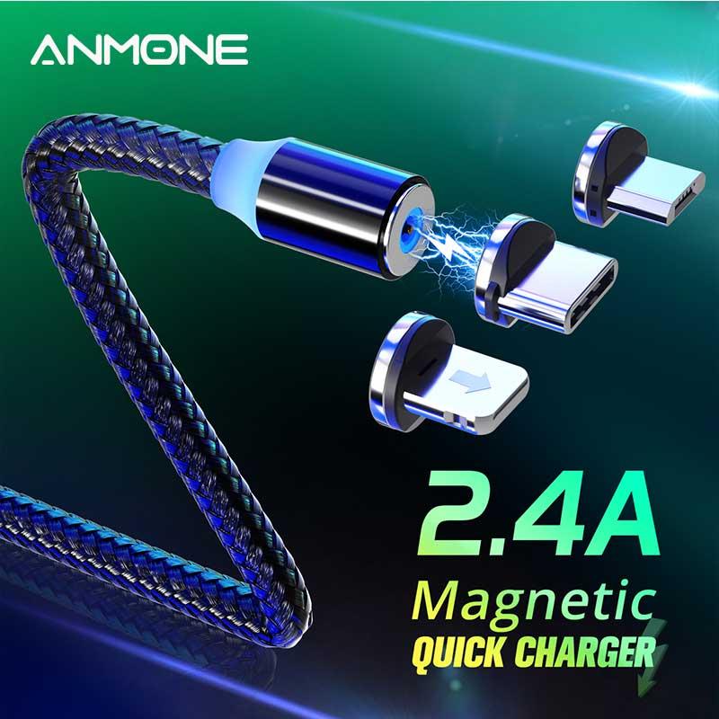 Ningún dinero magnético Micro Cable tipo USB Cable de carga magnética rápido...