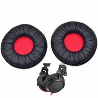 replacement soft leather earpad ear cushion pads for sony mdr v55 headphone
