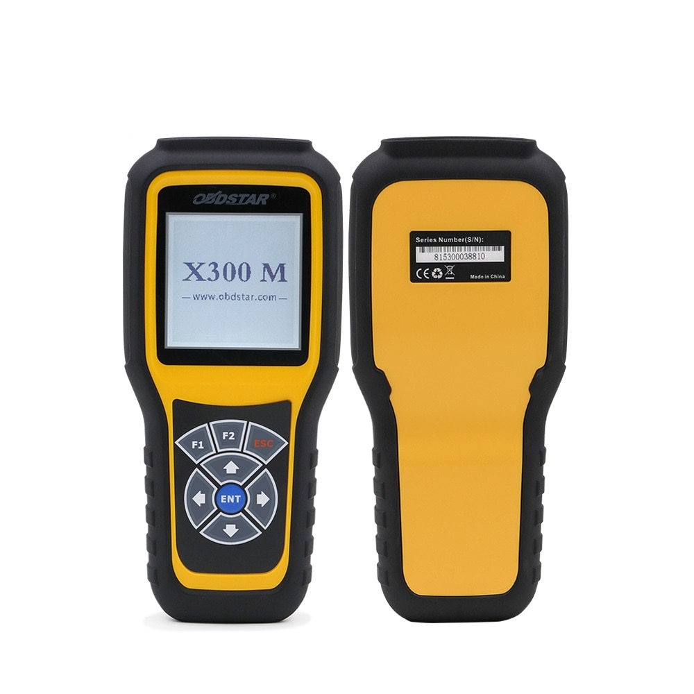 OBDSTAR X300M OBD2 odómetro corrección especial para ajuste de odómetro y OBDII soporte m-ercedes b-enz & MQB VAG KM función