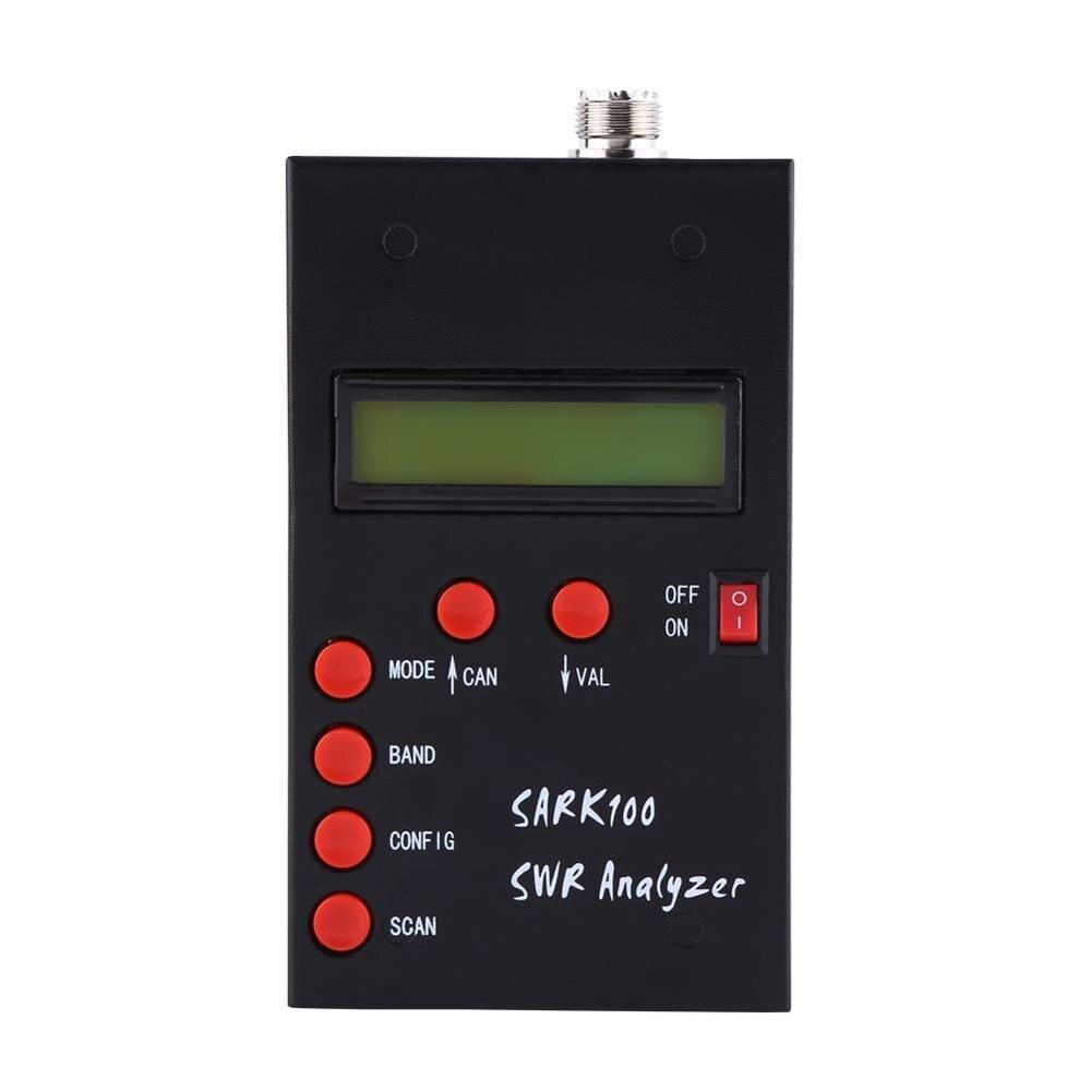 Medidor de frequência 1-60mhz de ondas curtas swr antena analisador medidor tester impedância medição para frequência meham rádio hobbists