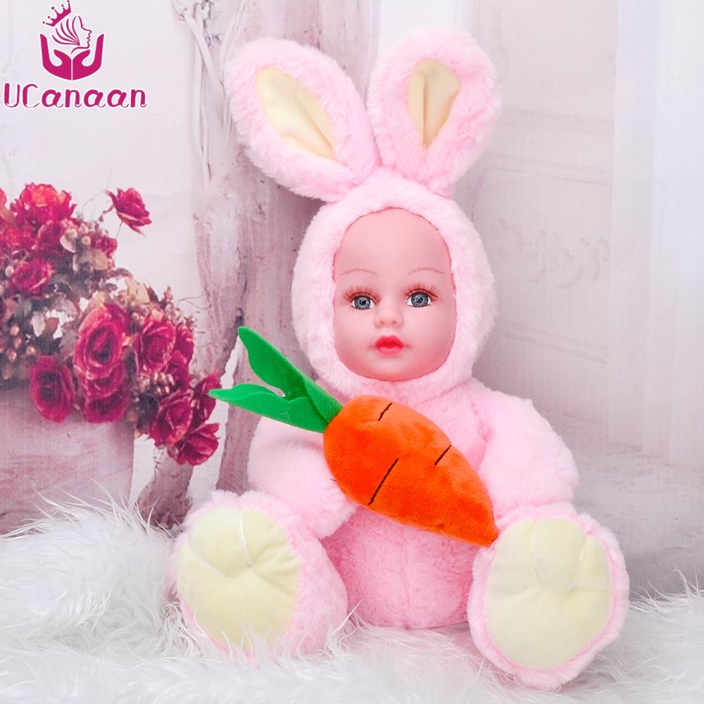 38 cm recheado boneca brinquedos de pelúcia animais para crianças presente do feriado dos desenhos animados coelho cenoura macio acompanhar dormir brinquedo