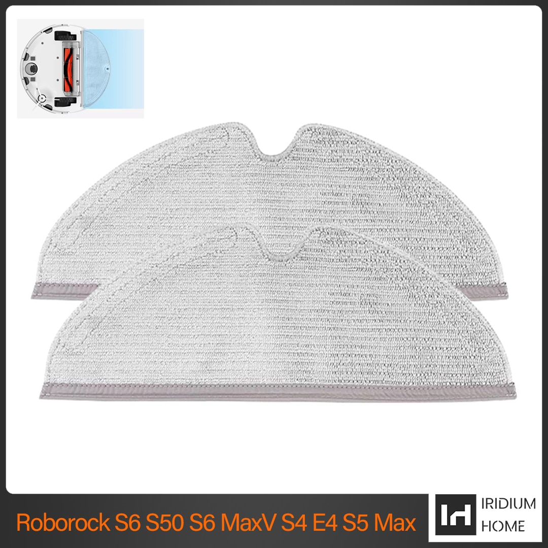 For Xiaomi Roborock S5Max S50 S51 S55 S60 S6 Maxv vacuum cleaner robot accessories new cleaning cloth mop replacement parts