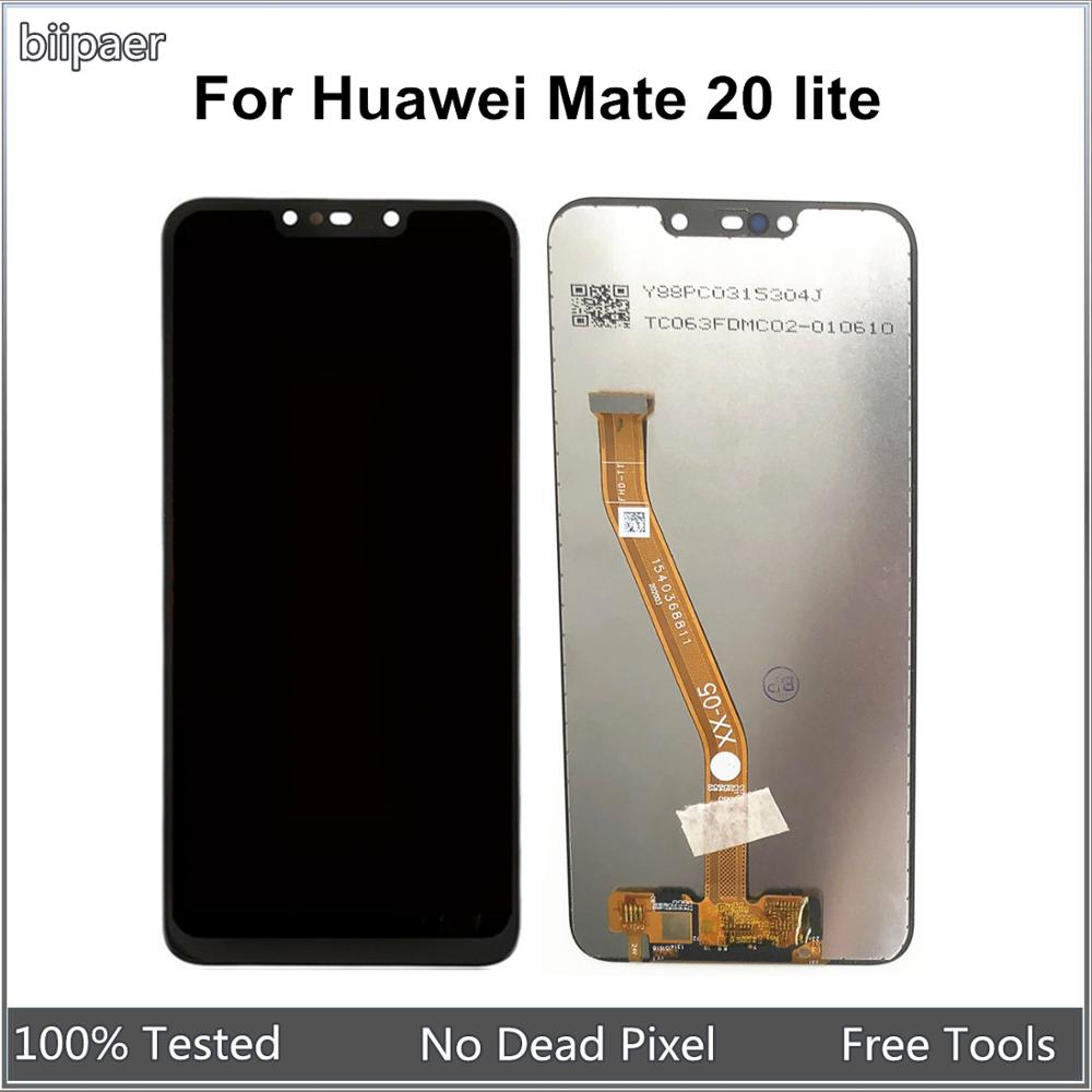Pantalla LCD para Huawei Mate 20 lite pantalla LCD de montaje de digitalizador con pantalla táctil para Mate20 Lite SNE-LX1... SNE-LX2... SNE-LX3... INE-LX2