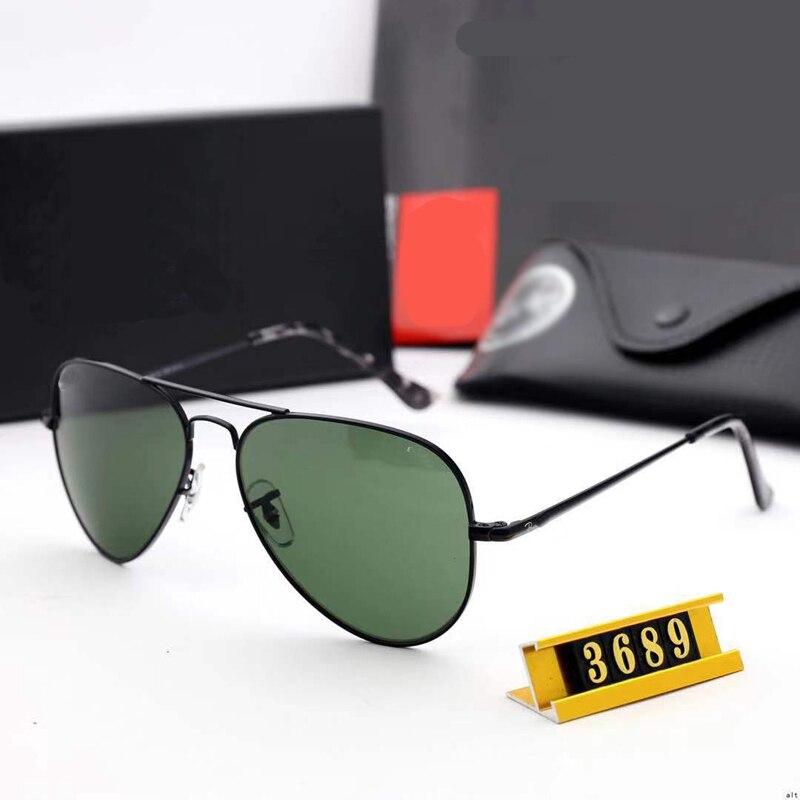 Gafas de sol clásicas de piloto policía 2020, Gafas de sol polarizadas de aviación para hombres, Gafas de protección UV400 para conducir, Gafas