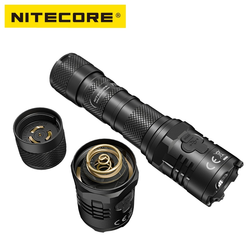 New NITECORE P20iX LED Flashlight CREE XP-L2 4000 LM USB-C Rechargeable Lantern  with 21700 Battery for Self-defense Camping enlarge