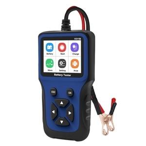 311B 12V Battery Tester Analyzer 100-2000 CCA Car Quick Cranking Battery Tester