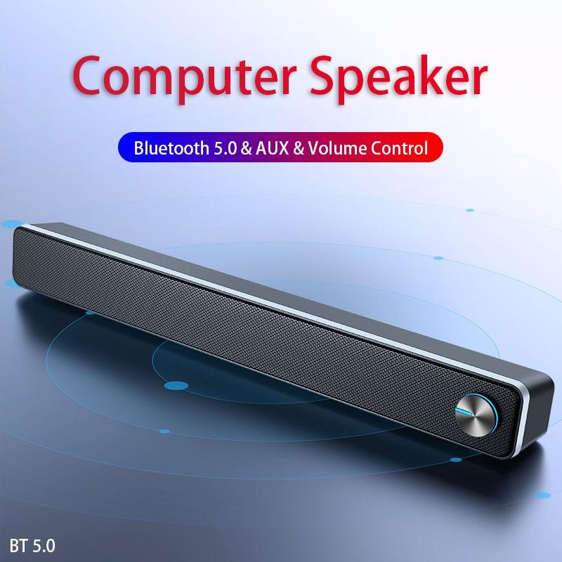Soundbar Caixa De Som Para PC Bluetooth Speaker Sound Bar Home Theatre System Desktop Computer Speakers Haut Parleur PC TV
