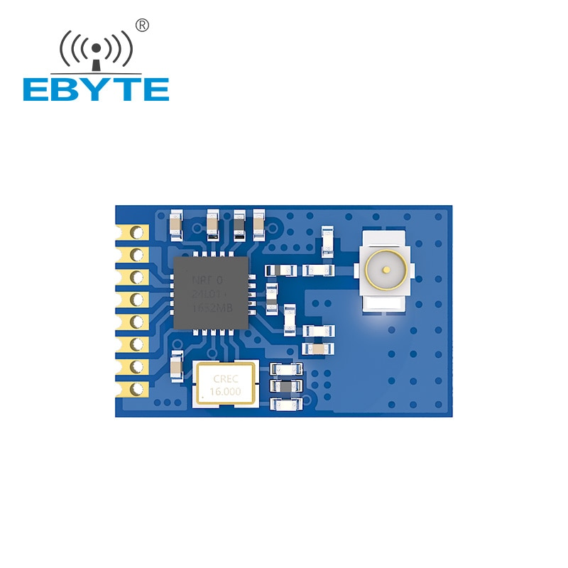 AliExpress - nRF24L01P RF 2.4G SMD Wireless Transceiver Module IOT Electronic Components EBYTE E01-ML01IPX SPI Interface Antenna IPEX SMD