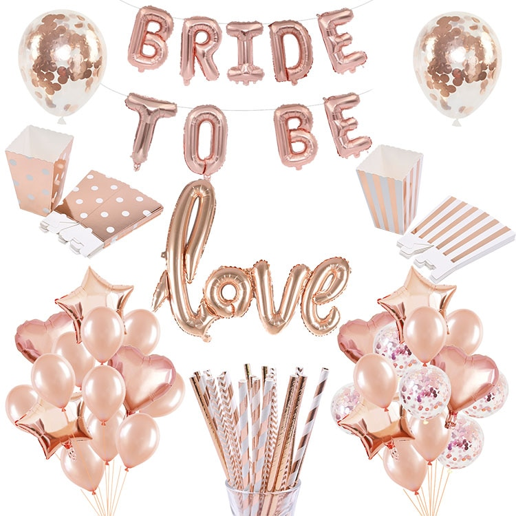 Розовое золото буквы «Bride To Be», фольгированный воздушный шар, кольцо с бриллиантом, воздушный шар для девичника, девичника, украшение для сва...