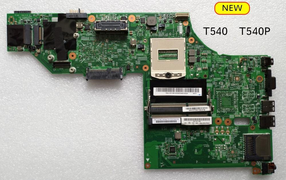 اللوحة الأم للكمبيوتر المحمول Lenovo Thinkpad T540 T540P, جديد وأصلي 48.4L016.021