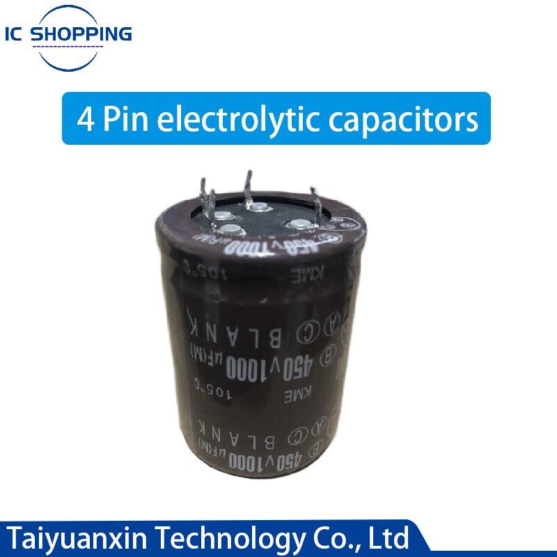 100V 400V 450V 1000UF 820UF 10000UF 4Pin Aluminum Electrolytic Capacitors