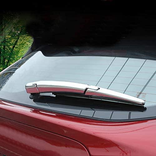 لنيسان قاشقاي J11 روج سبورت 2014-2020 سيارة التصميم ملحقات كروم ABS الخلفي المطر ممسحة نوزل غطاء الكسوة 1set