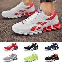 men women fashion sports leisure shoes cushion breathable running shoes mixed color sneakers 10 colors
