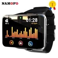 64gb 4gb 4g smartwatch men women 2300mah big screen 2 88 gps 500w 1300w dual camera waterproof sport tracker smart watches