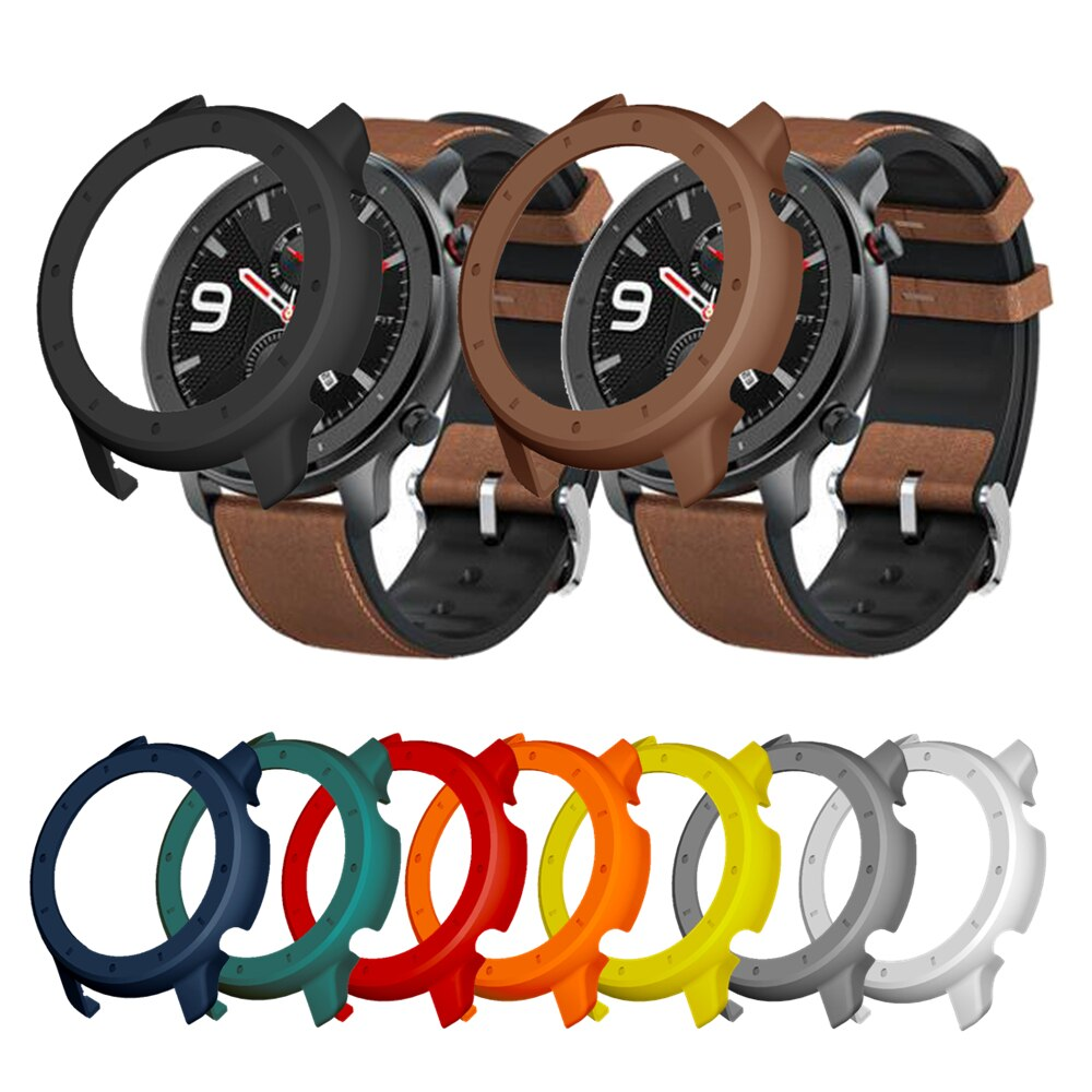 Protective Case Cover For Xiaomi Amazfit Gtr 47mm PC Protector Frame For GTR 42mm Watch Protect Shel