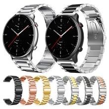 Strap For Xiaomi Amazfit GTR 2 2e Metal Band GTS GTR2 Bracelet For Huami Amazfit Stratos 3 Smart watch Wrist straps Watchband