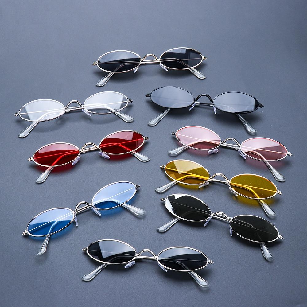 Модные Винтажные Солнцезащитные очки, элегантные очки в ретро стиле, маленькие овальные солнцезащитные очки для мужчин и женщин, очки gafas oculos