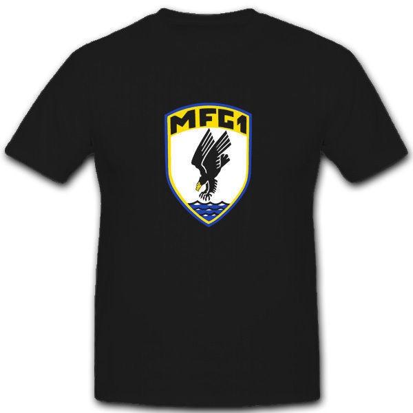 Marinefliegergeschwader 1 Mfg1 marino Flieger-Camiseta 100% algodón Casual manga corta hombres camiseta