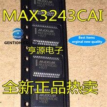 10 Pièces MAX3243 MAX3243CAI SSOP28 en stock 100% nouveau et original