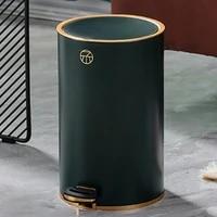 nordic luxury trash can kitchen modern creativity minimalist home storage trash bin kawaii kitchen cubo basura storage bc50ljt