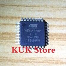 Real 100% Original NEW MEGA328P AU / ATMEGA328P U-TH ATMEGA328P-AU ATMEGA328PAU QFP32 50PCS/LOT