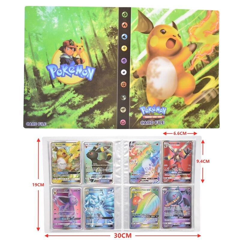 Альбом для карт Pokemon V VMAX GX MEGA EX, 240 шт.
