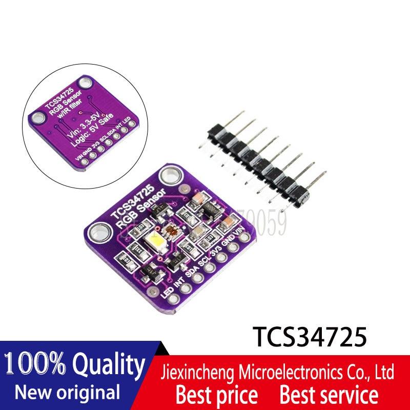 1PCS/LOT CJMCU-34725  TCS34725 Color Sensor RGB color sensor developme