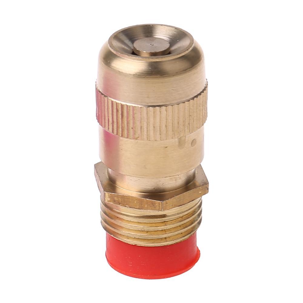 Boquilla de pulverización de agua fina ajustable de 1/2 pulgadas, aspersor de jardinería, sistema de riego, herramienta de refrigeración