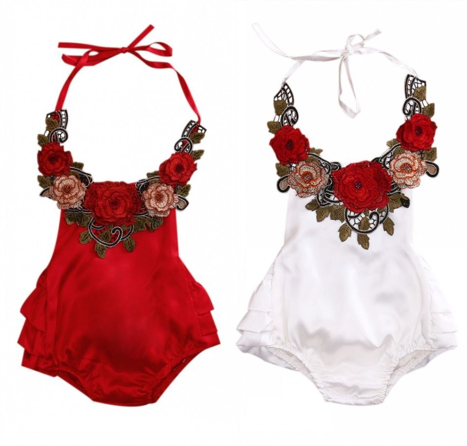 Summer Toddler Kids Baby Girls Off Shoulder Rompers Jumpsuits Playsuit Trousers