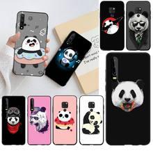 Cutewan Panda Dab luksusowa unikalna konstrukcja obudowa telefonu dla Huawei P30 P20 lite Mate 20 Pro lite P Smart 2019 prime