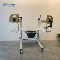 easy folding chair for bath and shower disabled manual wheelchair toilet seat toilet commode chair with bedpan