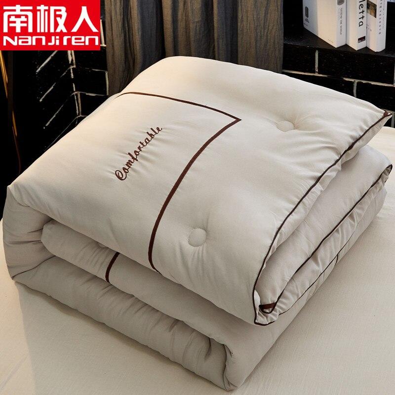SF عالية الجودة الشتاء أسفل المعزي حشو تصميم جديد المعزي بطانية بسيطة نمط الشتاء الدافئة حاف لحاف 4 كجم الوزن 2.2*2.4 متر