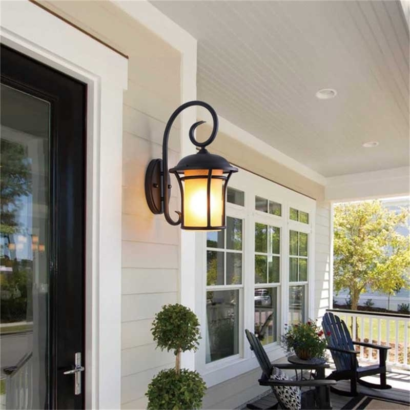 DLMH Outdoor Wall Light Classical LED Sconces Retro Lamp Waterproof IP65 Decorative For Home Porch Villa enlarge