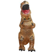Halloween Christmas Dinosaur Inflatable Suit Tyrannosaurus Wreck Inflatable Clothing Cosplay Performance Costume Child Adult