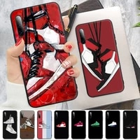 trend brand shoe sneakers silicone mobile phone case for samsung a51 a71 a72 a52 a50 a31 a10 a40 a70 a30s a20 e a30 a11 a21