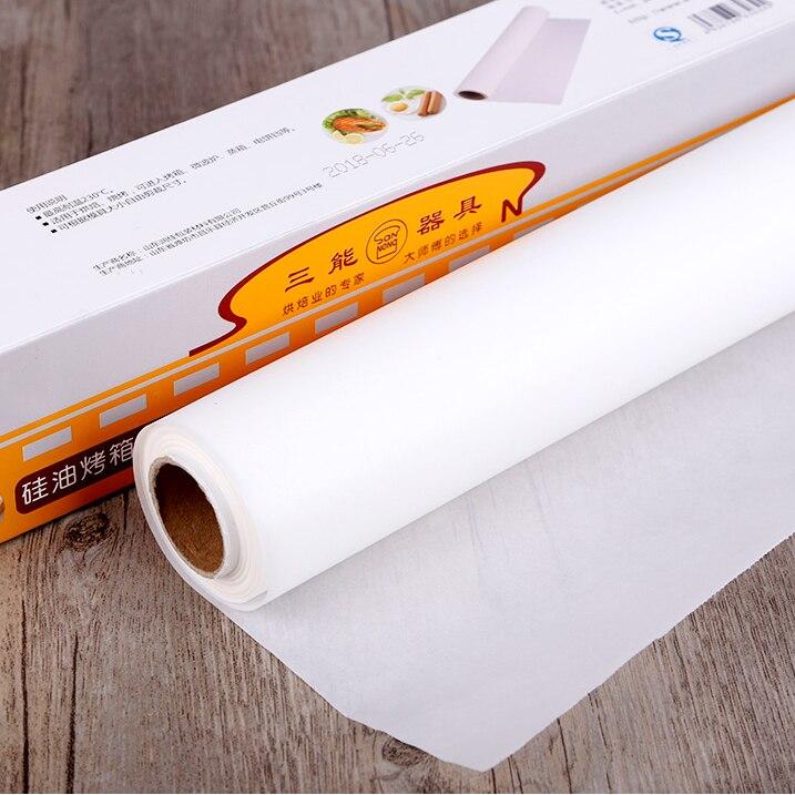 تغليف المواد الغذائية جزار ورقة اللحوم لفة ورق جزار ورق تغليف برجر Papel Cera Alimentos مستلزمات الخبز DK50BP