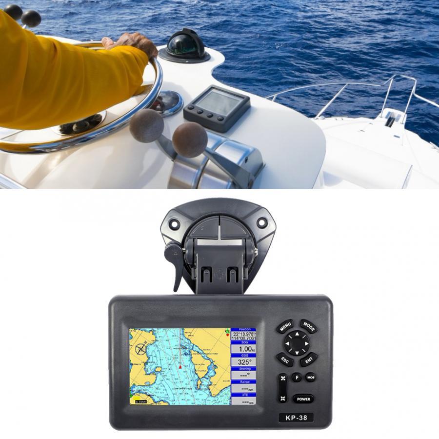 5 polegadas de cor lcd gps ipx5 à prova dipágua carta marinha plotter satélite navigator gps marinho novas chegadas